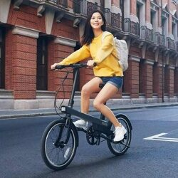 Электровелосипед Xiaomi QiCycle Qiji Electric Bike Black